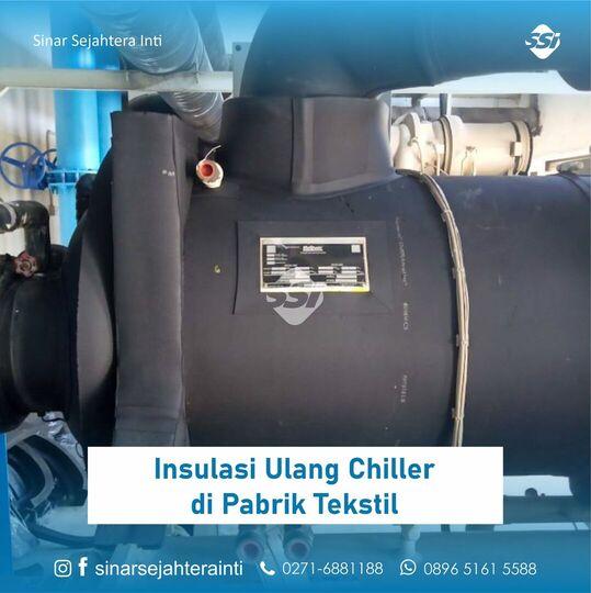 Insulasi Ulang Chiller di Pabrik Tekstil