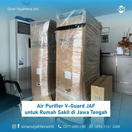 Air Purifier V-Guard JAF untuk Rumah Sakit di Jawa Tengah